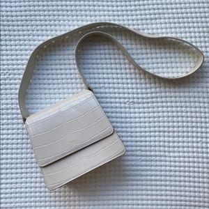 JW PEI Faux Croc Handbag